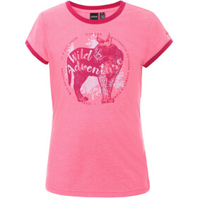 Icepeak Kamas T-Shirt Kinderen, hot pink